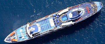 The Sapphire Cruise Ship Louis Cruises Greece