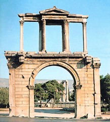 Adrian's Arch in Athens