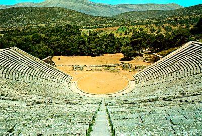 Photograph of the theatre of Epidavros