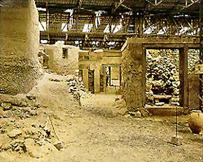 Excavations in Akrotir...