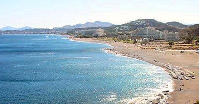 Faleraki beach, Rhodes