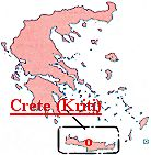 Click here to view a large map of Crete (Kriti)