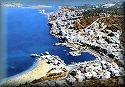 Kriti (Crete), the bay of Elounda; click to enlarge