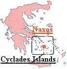 Click here to view a map of the greater area of the Cyclades Islands, including Naxos