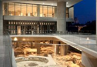 View of the Acropolis Museum