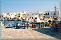 The little fishing village of Naoussa in Paros