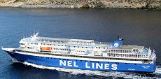 Aqua Jewel ferry (NEL): from Lavrion