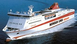 The Festos Palace ferry of Minoan Lines