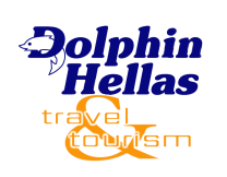Logo of Dolphin Hellas greek travel agency; click for the Home page