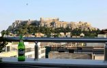 View of Acropolis from the Attalos hotel; photo by D. Howard