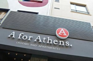 The A For Athens hotel