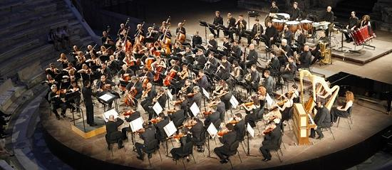 The Athens State Orchestra at the Herodion theatre