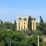Athens, the Temple of Zeus