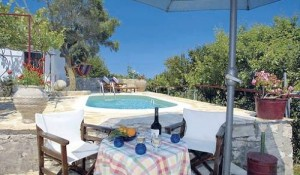 Bacchus House pool area