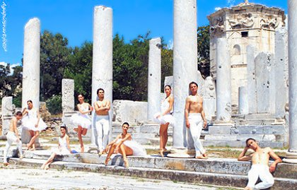 Ballet at the Ancient Roman Agora in Athens