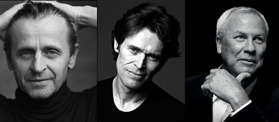Robert Wilson, Mikhail Baryshnikov, Willem Dafoe