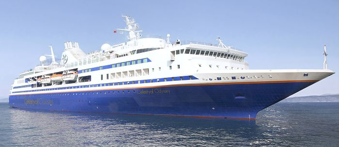 The Celestyal Odyssey Cruise Vessel Travel In Greece With Dolphin Hellas