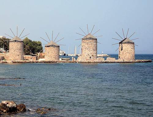 Chios Town Amp Kambos Travel In Greece With Dolphin Hellas