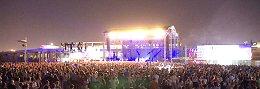 Concert in Faliro, Athens, Greece