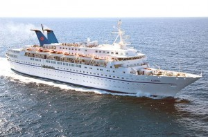 The 'Coral' cruise ship of Louis Cruises