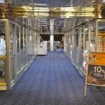 Venus deck: duty free shops