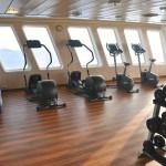 Apollo deck: fitness centre