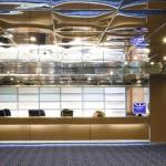 Venus deck: reception area