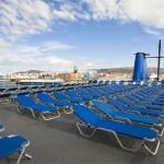 Zeus deck: sun chairs deck