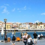 Crete, the port of Chania
