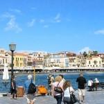 Crete, the port of Chania