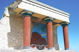 Crete, Knossos archaeological site