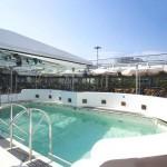 Deck 9: swimming pool area