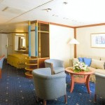 'S' Outside suite on the Celestyal Cristal cruise vessel