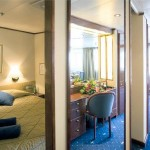 'SG' Grand Suite (~43sqm) on the Celestyal Crystal cruise ship