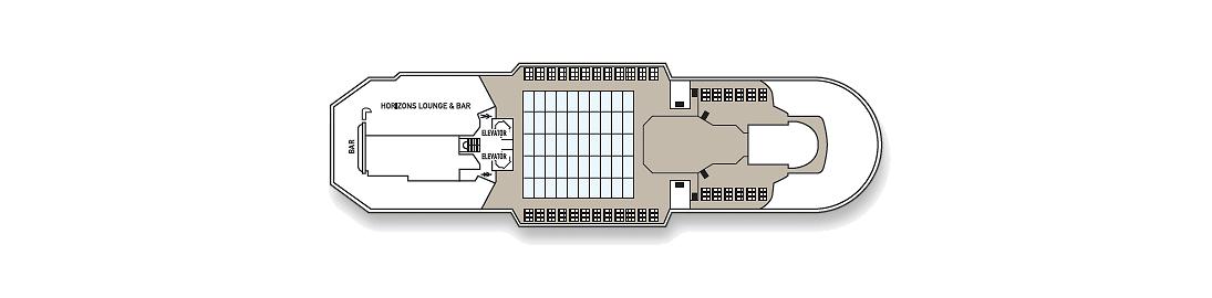 Deck: 'Zeus deck (10)' / Ship: 'Celestyal Crystal' cruise vessel / Cruise company: Celestyal Cruises