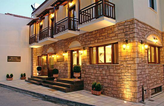 The Apollonia Hotel In Delphi