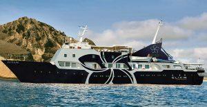 The 'Elysium' yacht of Elixir Cruises