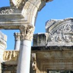 Ephesus: The temple of Hadrianus