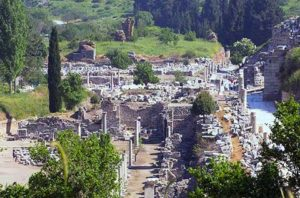 Ancient Ephesus: the Terrace Houses, also known as the 'The Houses of Koressus'