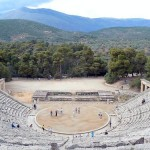 The ancient theatre at Epidaurus