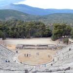 The ancient theatre at Epidaurus