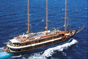 The 'Galileo' motor sailer cruise ship