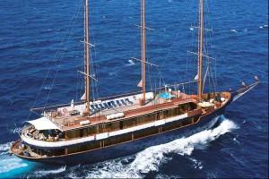 The 'Galileo' motor sailer cruise ship