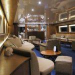 The indoor lounge