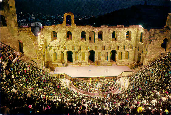 Astoria will have its own Odeon of Herodes Atticus
