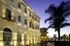 The Grande Bretagne hotel in Nafplio
