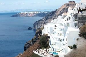 Tzekos Villas, in Santorini with Caldera view