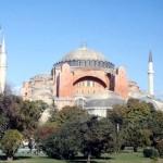 The Aghia Sophia in Istanbul