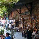 At a bazaar in Izmir