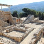 Heraklio: the archaeological site of Knossos